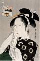 Estampe de Utamaro