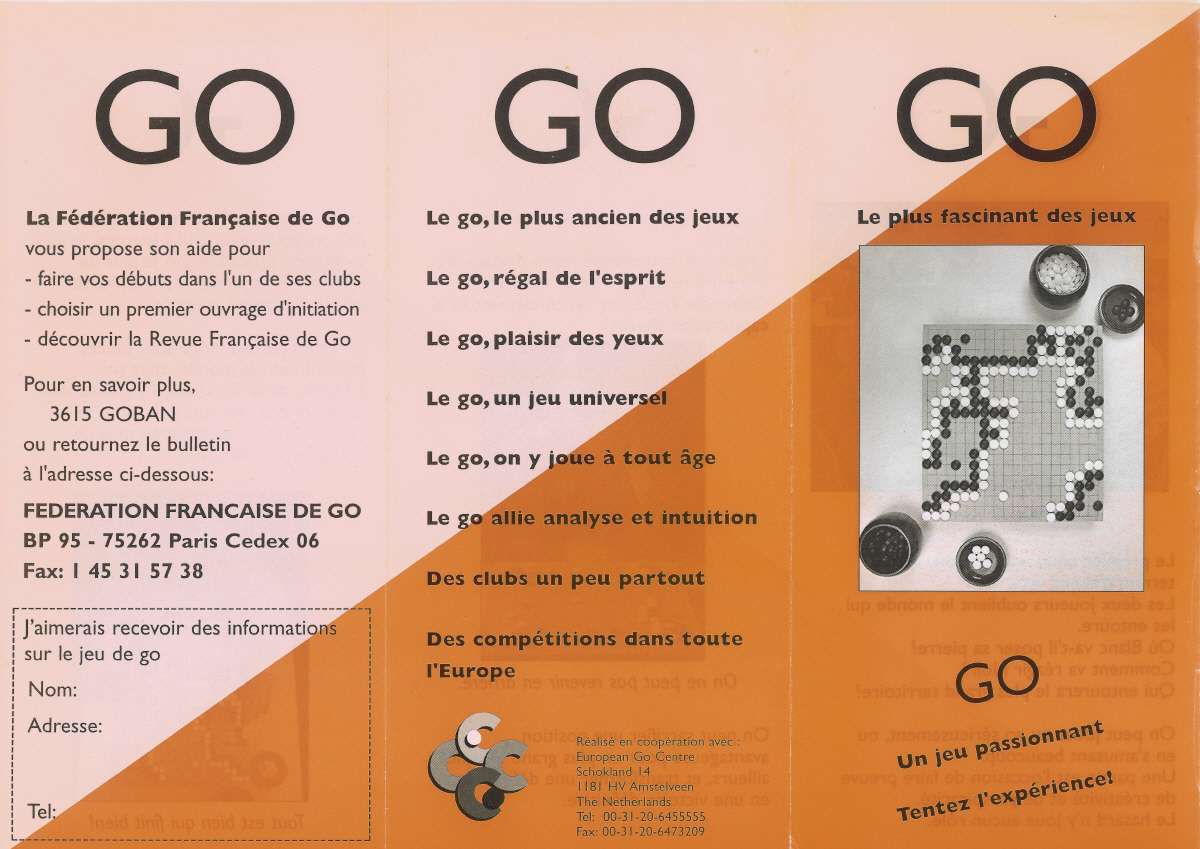 Flyer publi-promotionnel